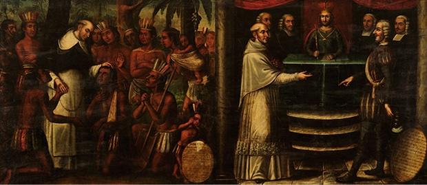 Bartolomé de Las Casas   Image: Wikimedia Commons