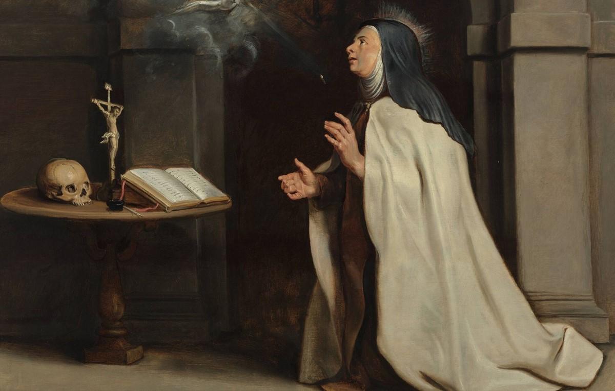 Saint Teresa of Avila   Image: Wikimedia Commons