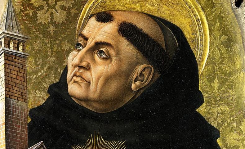 Saint Thomas Aquinas   Image: Wikimedia Commons