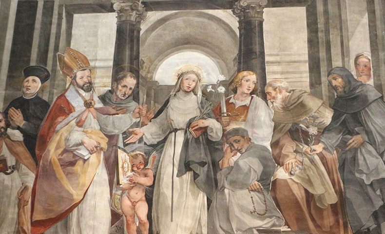 Saint Catherine of Siena   Image: Wikimedia Commons