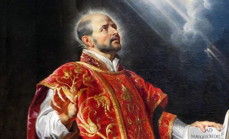 Saint Ignatius Loyola   Image: Wikimedia Commons