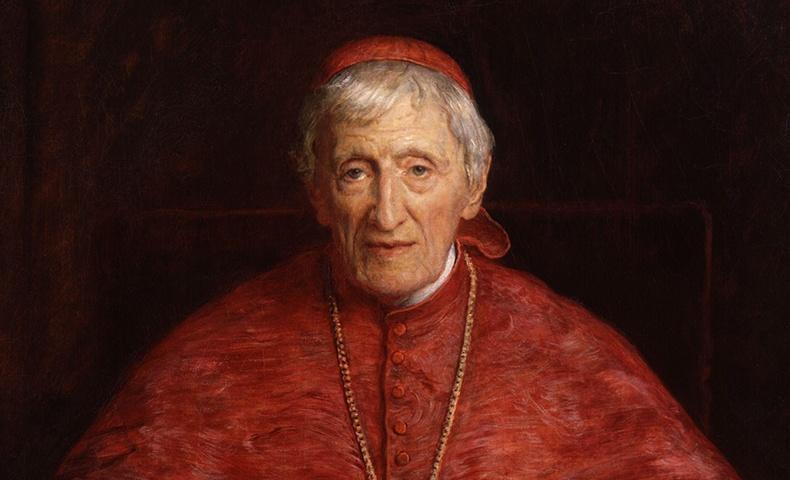 John Henry Newman   Image: Wikimedia Commons