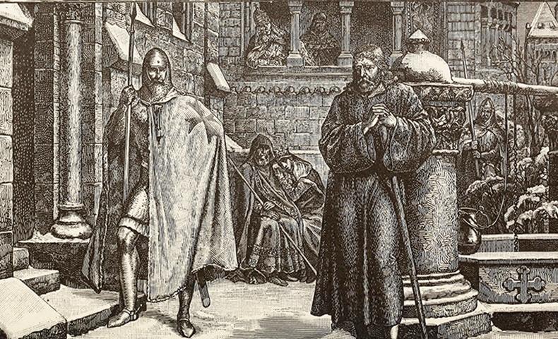 Saint Gregory VII   Image: Wikimedia Commons