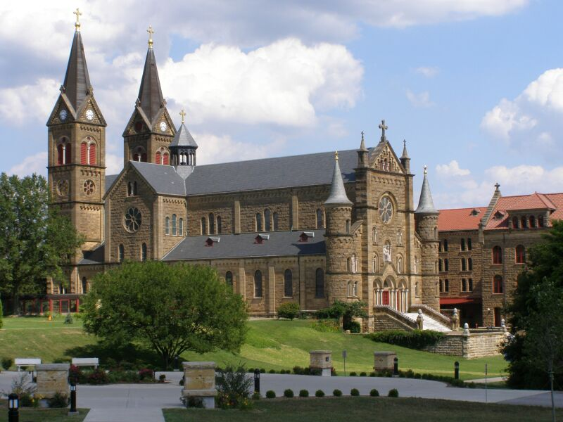 St. Meinrad Archabbey | Image: Wikimedia Commons