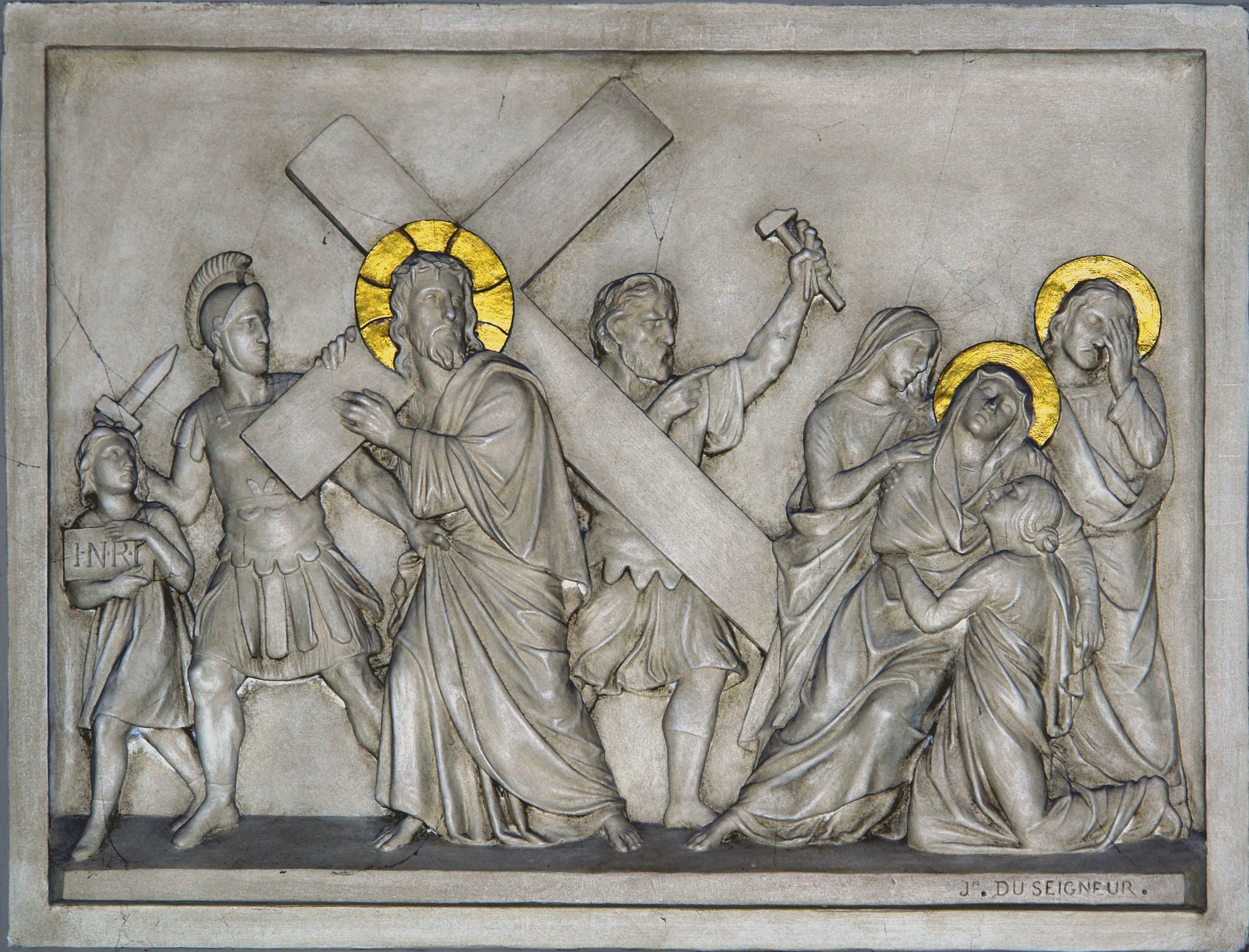 Stations of the Cross © Yann Forget / Wikimedia Commons