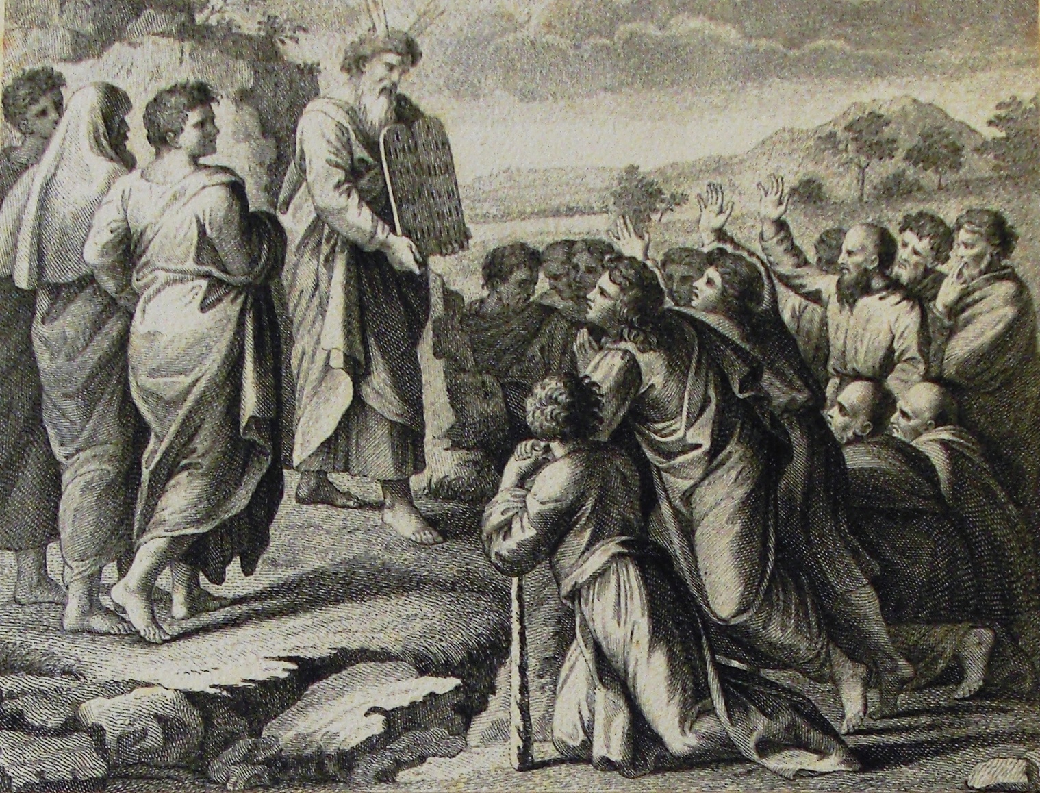 Moses and the Ten Commandments: Wikimedia Commons