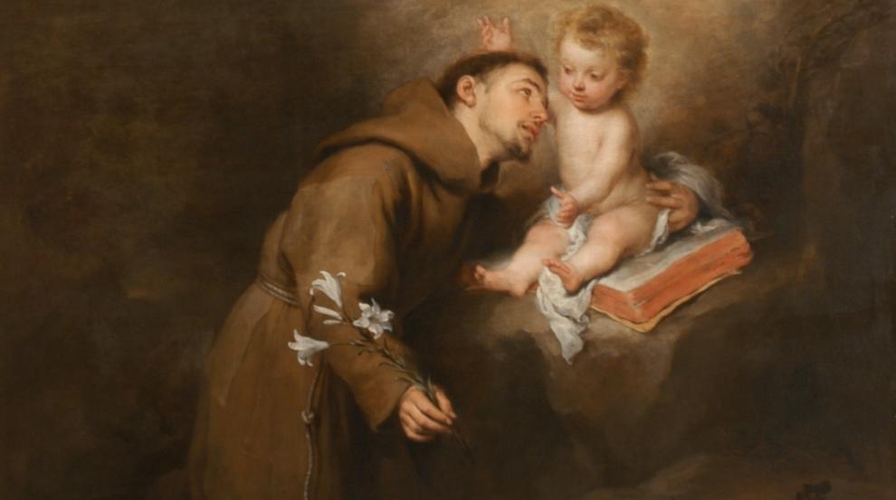 Saint Anthony: Pray for us!