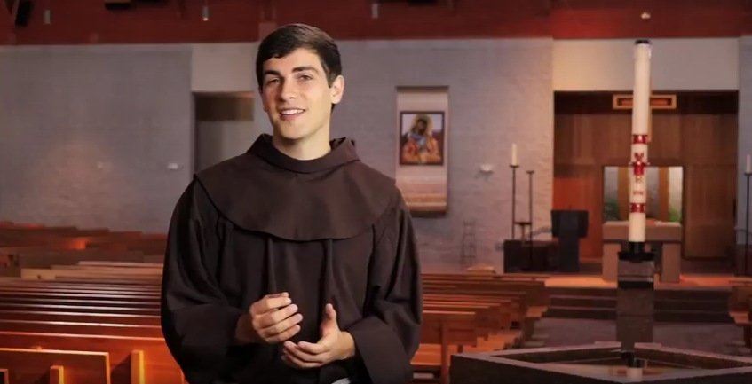 Click here to watch Br. Casey Cole, OFM's latest video!