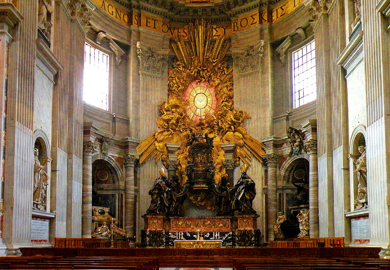 Chair of Saint Peter: Wikimedia Commons
