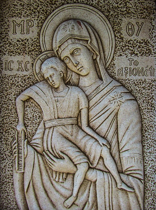 Mary is our comfort and our strength.