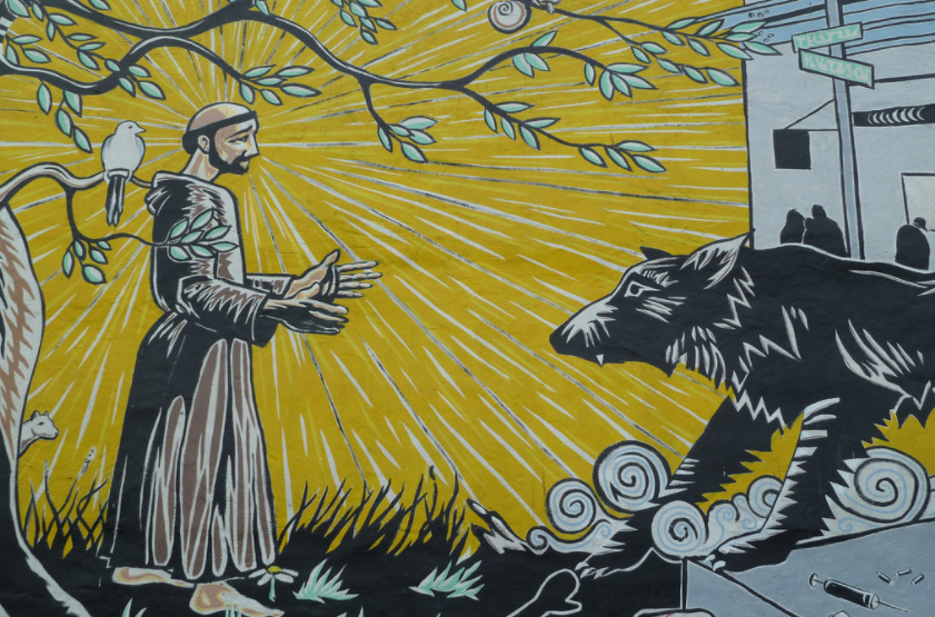 Saint Francis of Assisi: Pray for us! | Image: Jim McIntosh/flickr