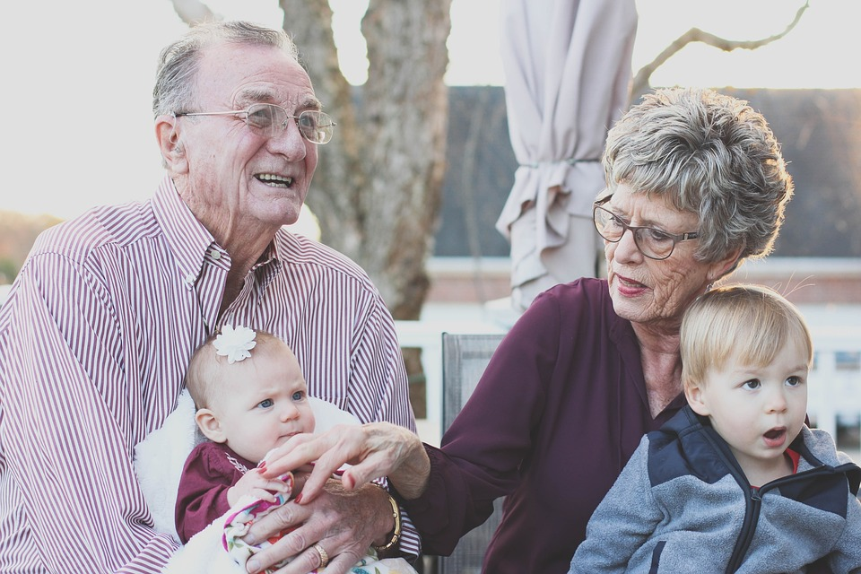 Grandparents offer wisdom and guidance on life's journey.