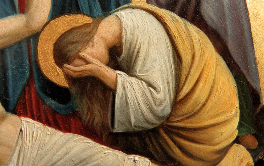 Saint Mary Magdalene: Pray for us!   Image: Wikimedia Commons