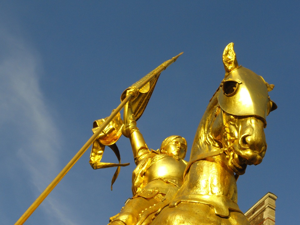 Saint Joan of Arc: Pray for us!