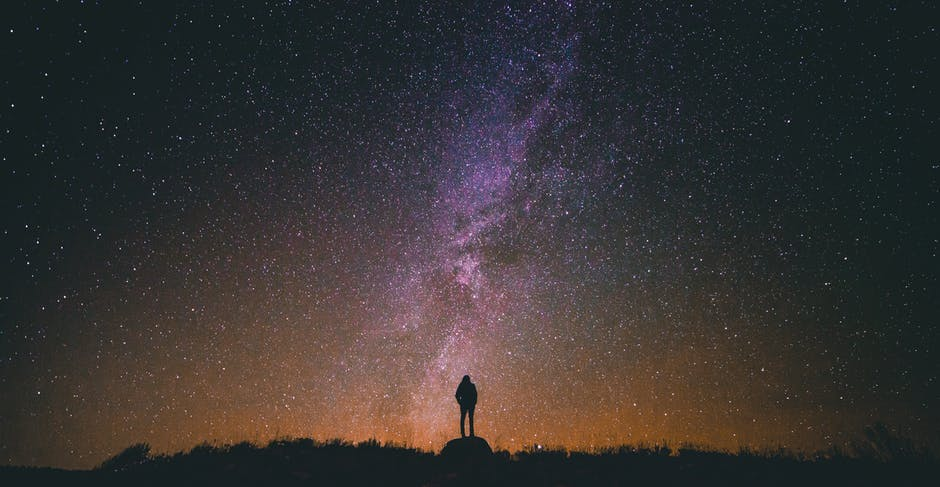 """""""I found Him in the shining of the stars."""" Photo: Pexels"""