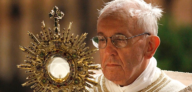 Pope Francis says the sacraments are the cornerstones of our Catholic faith.