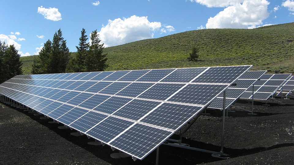 Harvesting solar power for energy needs