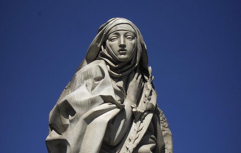 Saint Catherine of Siena: Pray for us!