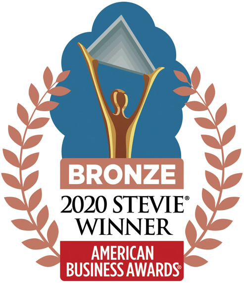 2020 Bronze Stevie Winner