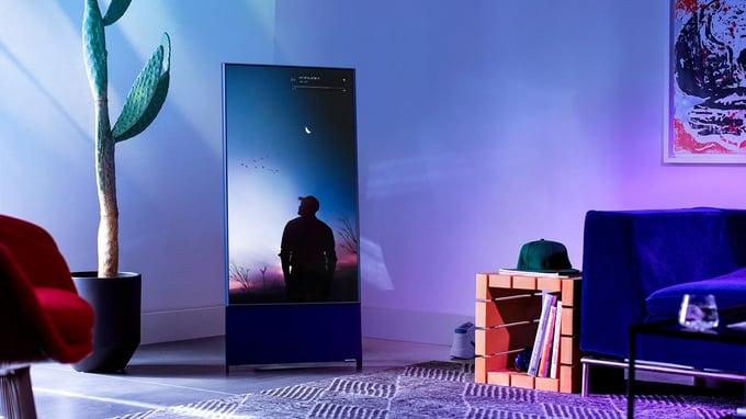 Samsung The Sero - galenskap eller genidrag?