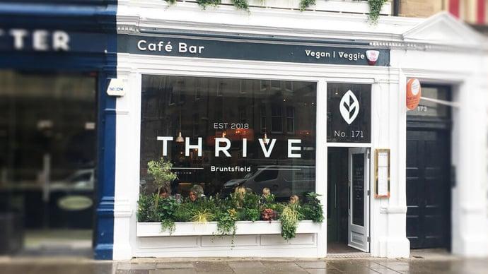 Thrive signage
