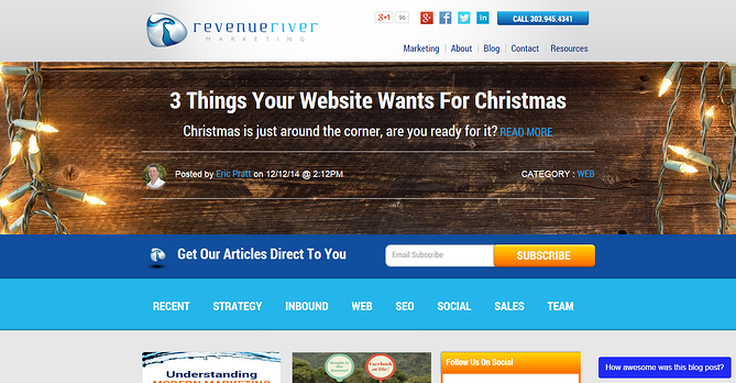 Revenue River Blog Banner Image