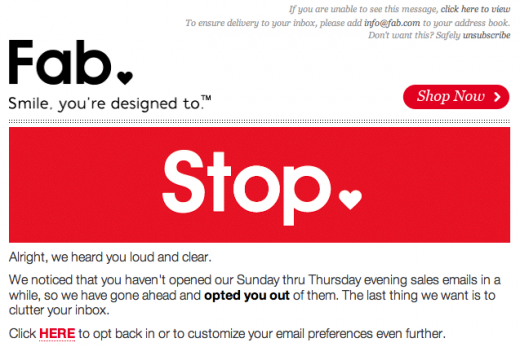 9 Effective Email Unsubscribe Pages