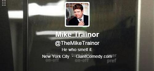 Mike Trainor Twitter Bio