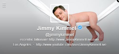 Jimmy Kimmel Twitter Bio