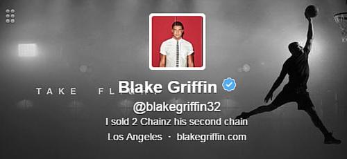 Blake Griffin Twitter Bio