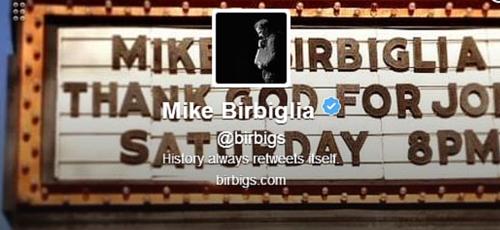 Mike Birbiglia Twitter Bio