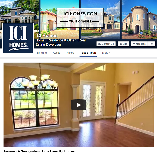 18 facebook post ideas for new home builders for Ici floor plans