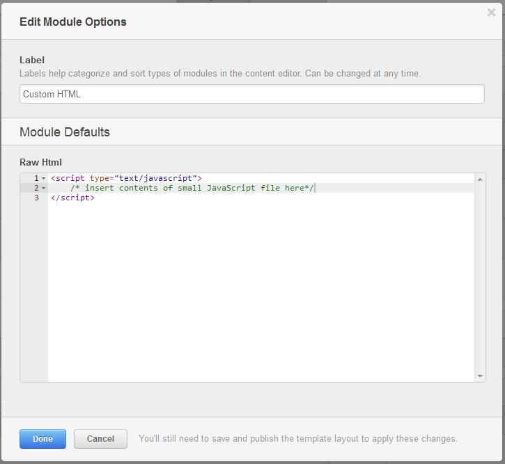 captura de pantalla html personalizado