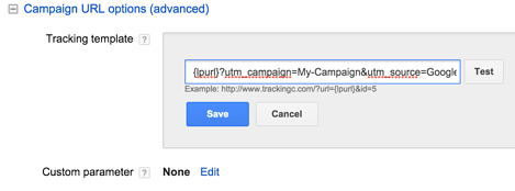 utm_tracking and advanced campaign URL options