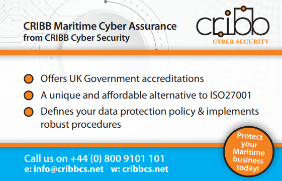 CRIBB Maritime Cyber Assurance for the Cruise industry