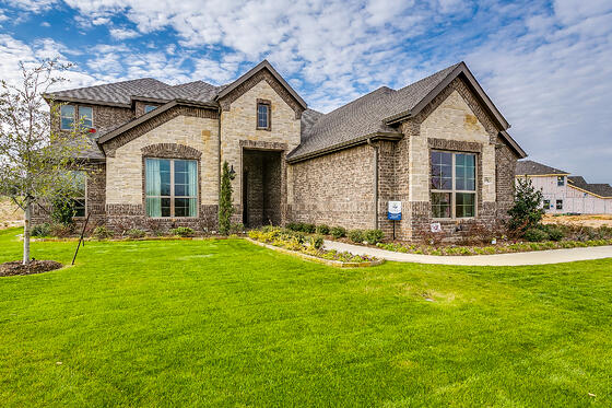 NEW MODEL HOME: Pinnacle Estates in Burleson, TX