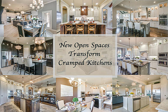 New Open Spaces Transform Cramped Kitchens