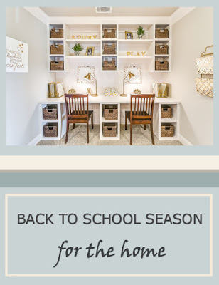Back to School Season: For the Home