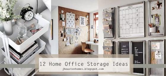 12 Home Office Storage Ideas