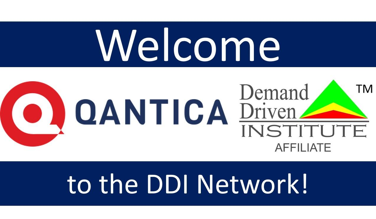 Il Demand Driven Institute da il benvenuto a Qantica come affiliato per l'Italia!