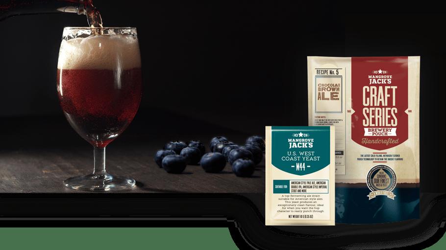 Recipe - Blueberry Cinnamon Porter