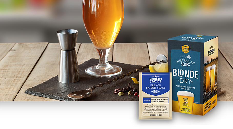 Gin and Tonic Saison with Australian Brewer's Series Kit