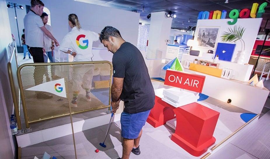 Google Home Mini Golf 3