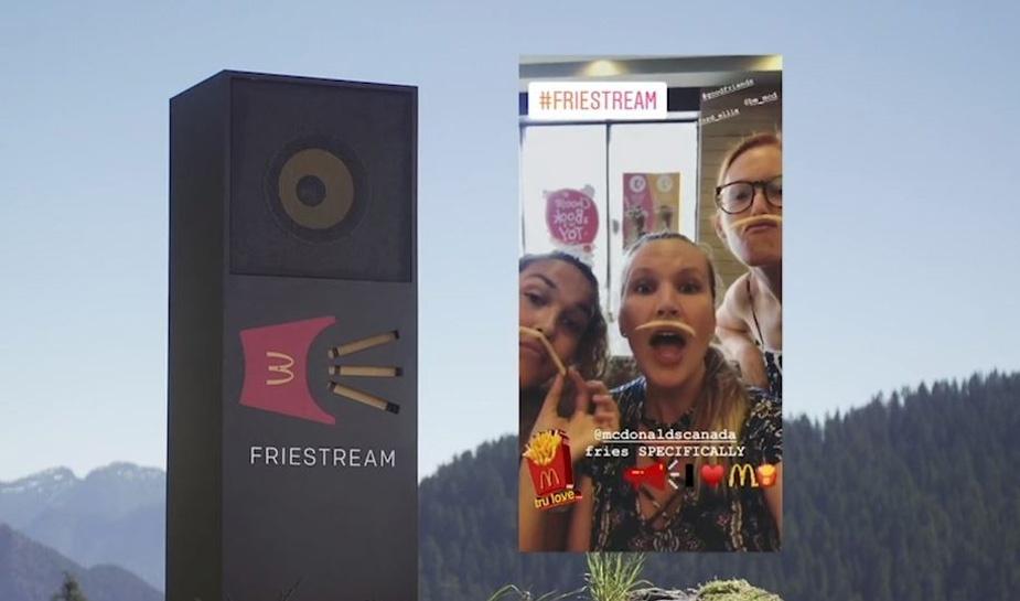 McDonalds Friestream 4