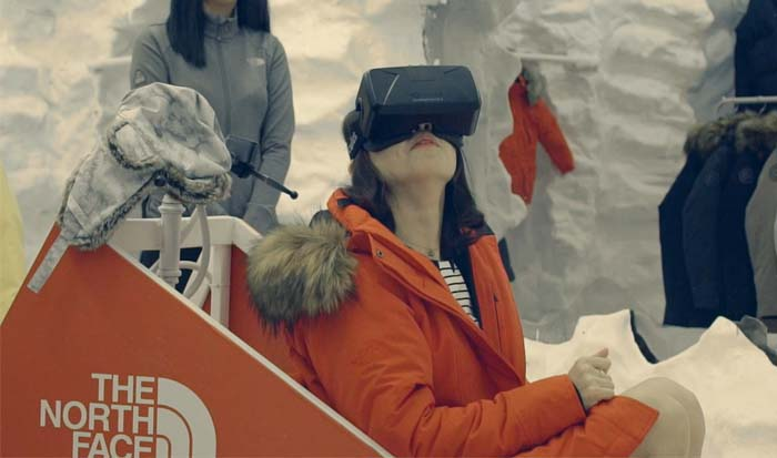 North Face VR experience