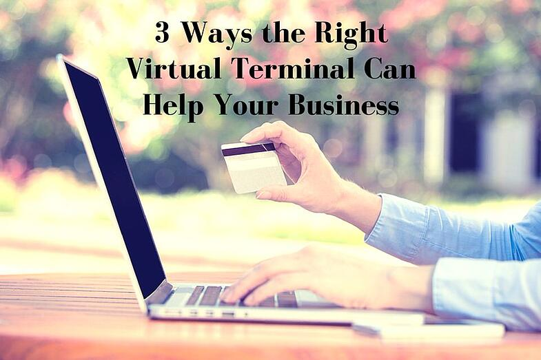 virtual terminal credit card processing for businesses
