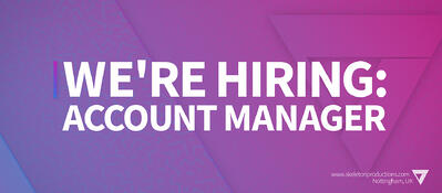We're Hiring: Account Manager [POSITION FILLED]