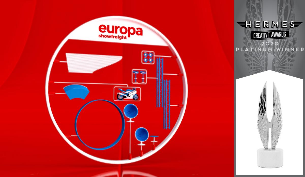 Hermes Platinum Award for Europa Animation