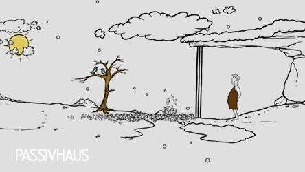 Animation Video - Passivhaus Cartoon