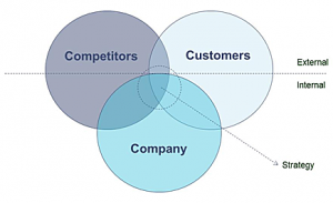 3cs model The 3c's model is an industry model, which offers a strategic look at the factors needed for success it was developed by japanese organizational theorist kenichi ohmae.